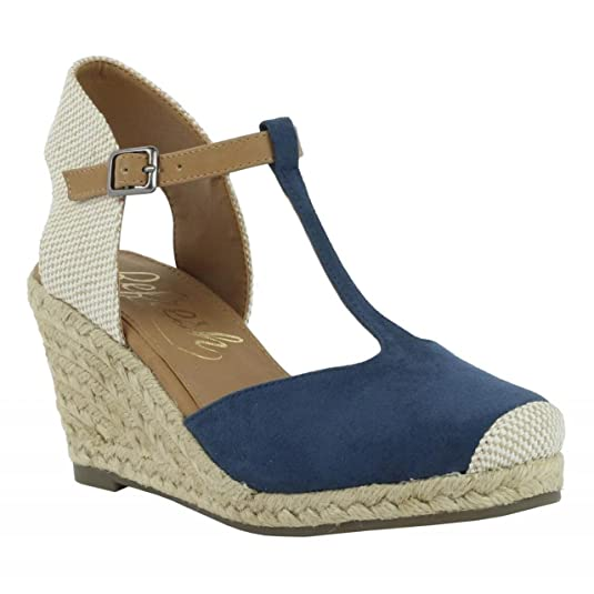 Zapatos de cuña de Mujer REFRESH 62090 ANT JEANS Talla 40 dvTRh