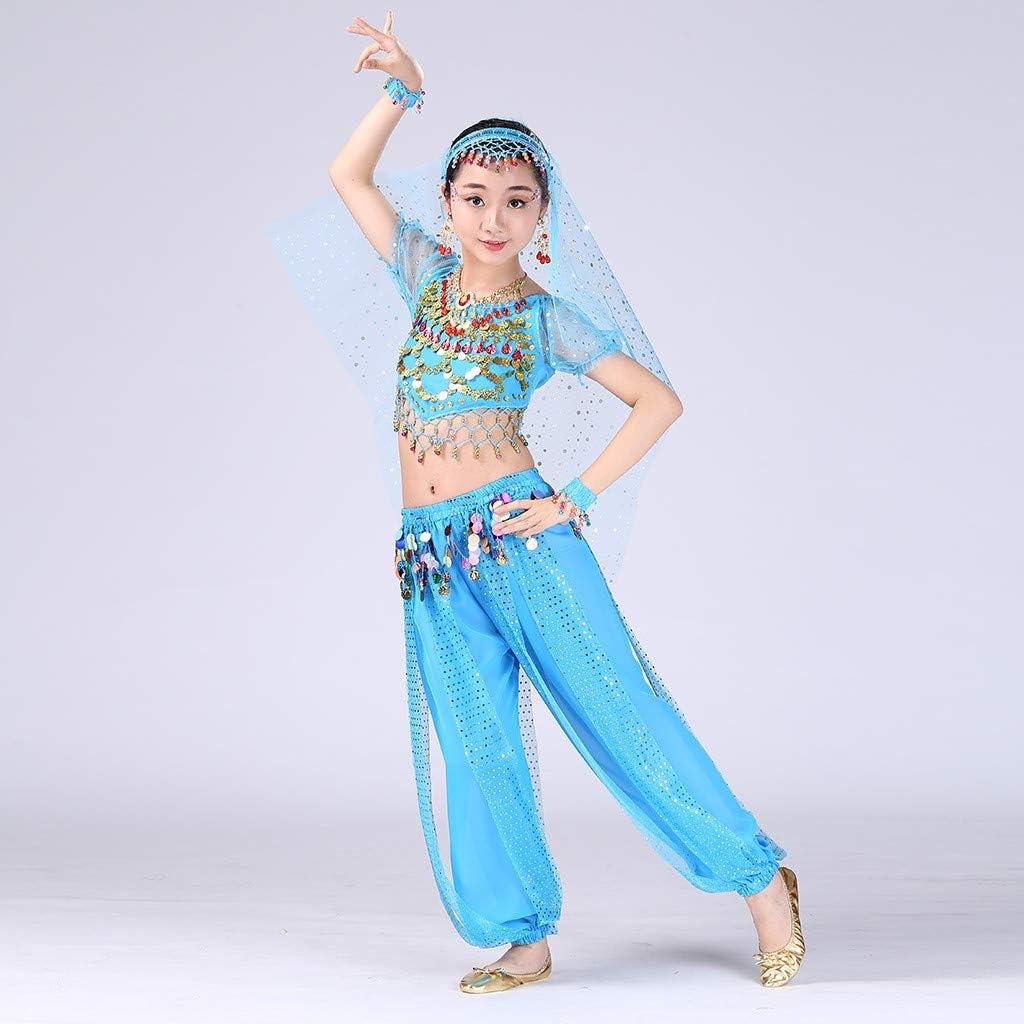 Lurryly Handmade Children Girl Belly Dance Costumes Kids Belly Dancing Egypt Dance Cloth