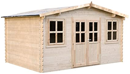 Caseta de jardín de 400-28 mm, 480 x 492 x 420 x 236