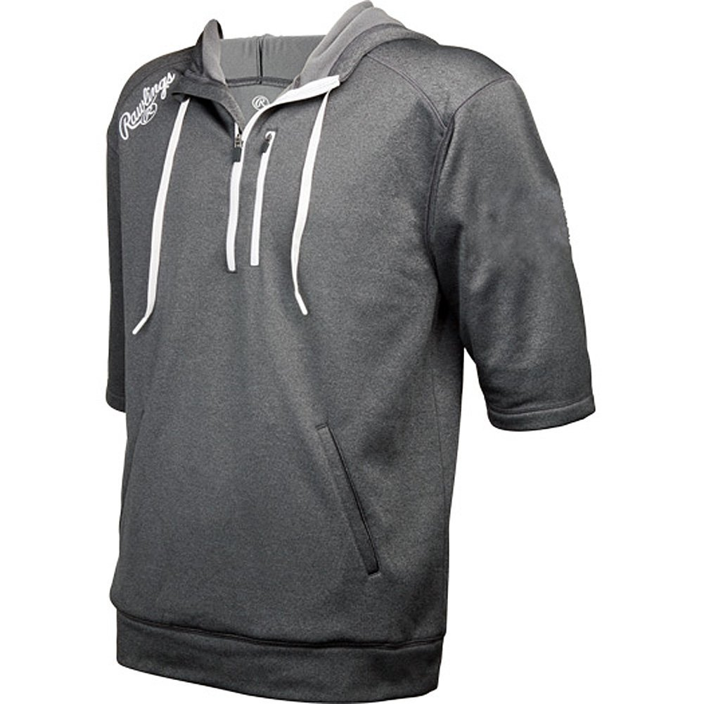 Rawlings  Mens Half Sleeve Performance Hoodie