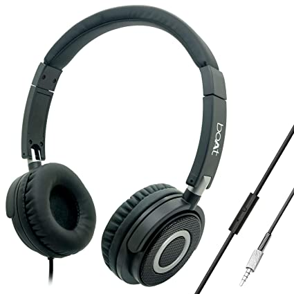 45d63127952 Boat BassHeads 900 Wired Headphone with Mic: Amazon.in: Electronics
