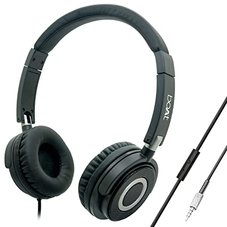 boAt Bassheads 900 On Ear Wired Headphones: Amazon.in: Electronics