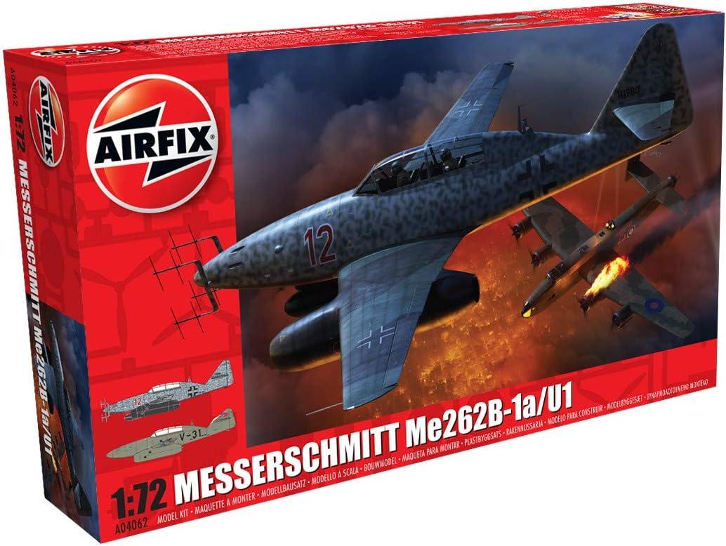 1:72 Scale verschieden Airfix A04062 1//72 Messerschmitt Me262-B1a Modellbausatz