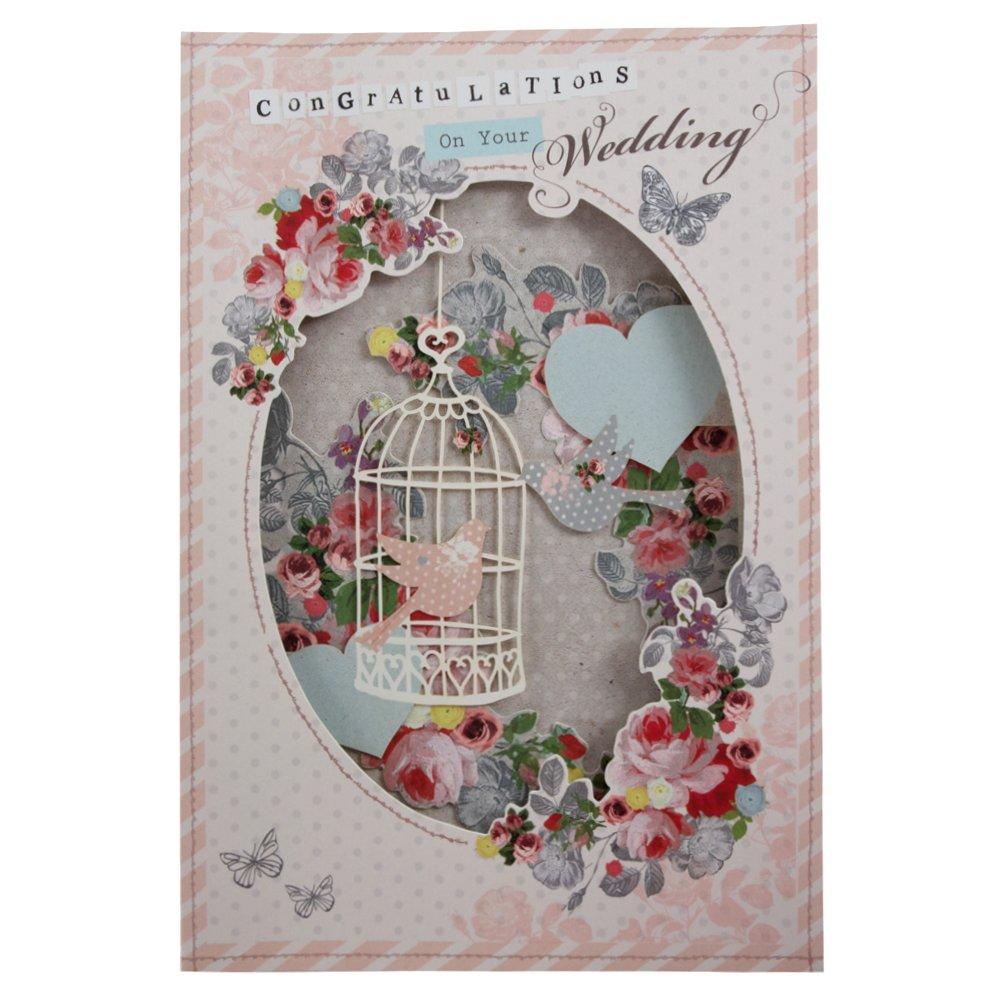 Hallmark Wedding Contemporary Pop Out Card - Medium 11382702