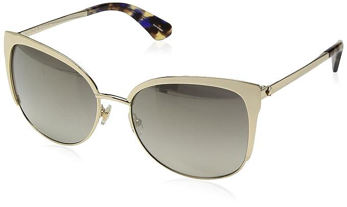 ce5f151959 Amazon.com  Kate Spade New York Women s Genice s Cateye Sunglasses ...
