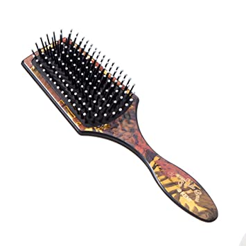 Kent The Original Paddle Brush for Smoothing and Straightening Model No   LPB2 - Floral