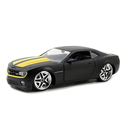 JADA 2010 CHEVY CAMARO SS SILVER 1//24 DIECAST CAR NEW WITHOUT BOX