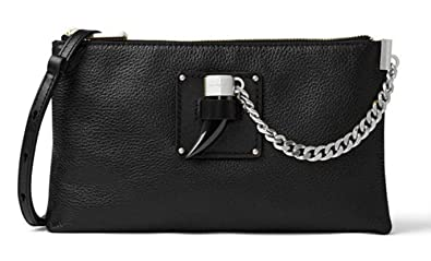 019d8ad027ee Image Unavailable. Image not available for. Color: MICHAEL Michael Kors  James Leather Crossbody/Clutch ...