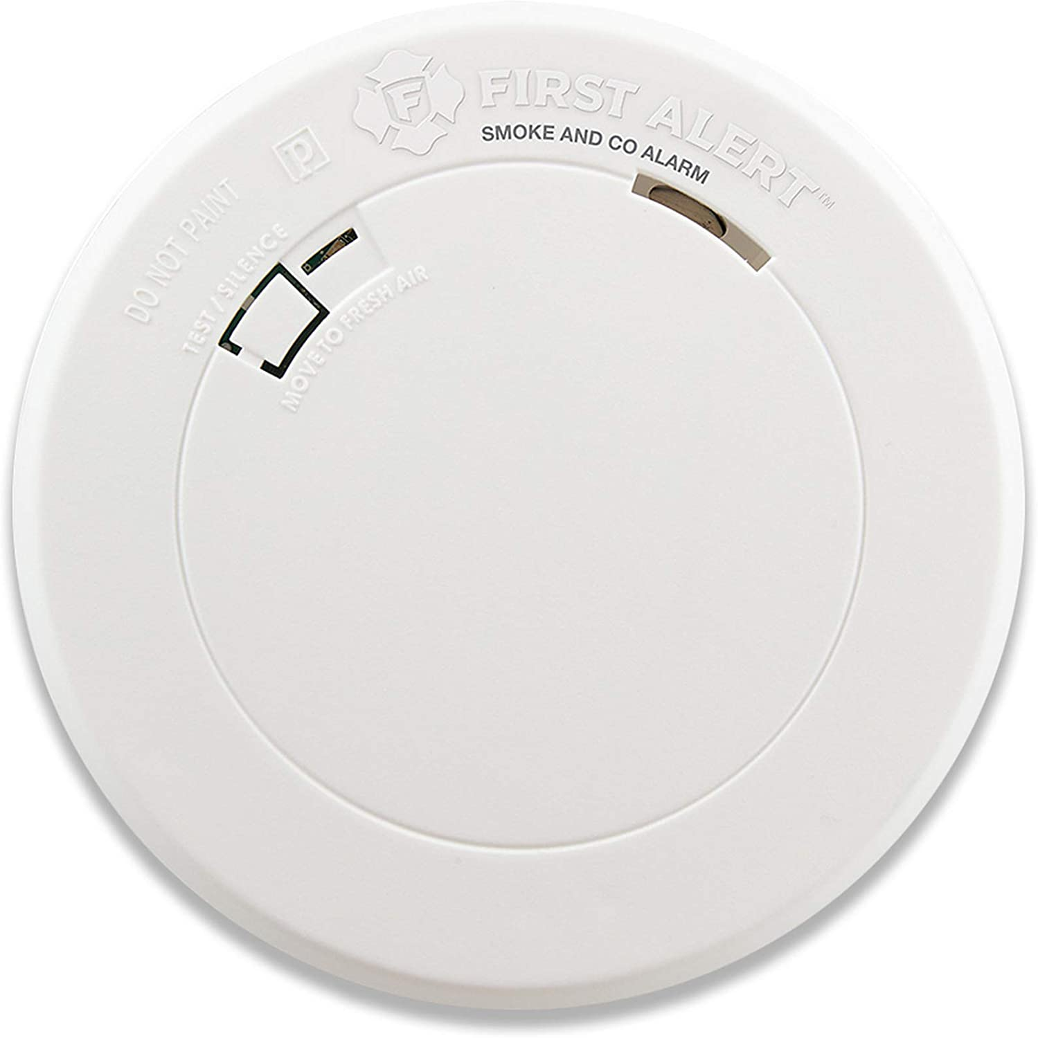 First Alert Smoke Detector And Carbon Monoxide Detector Alarm With