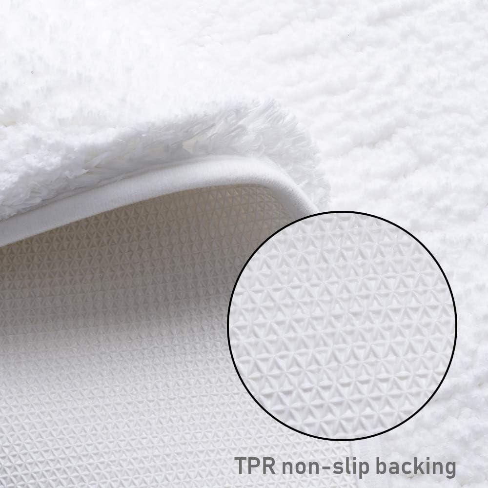 /3/Tailles 5/Couleurs Disponibles DADA Tapis de Bain Tapis de Salle de Bain antid/érapant Absorbant de Doux en Microfibre 50/x 80/cm Gris/ 50/×60 Red Microfibre