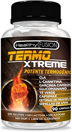 Image ofTermogénico con acción quemagrasas adelgazante | Garcinia cambogia + l-carnitina + CLA + glucomanano + té verde | Estimula el metabolismo, reduce el apetito y mejora tus entrenamientos | 90 cápsulas