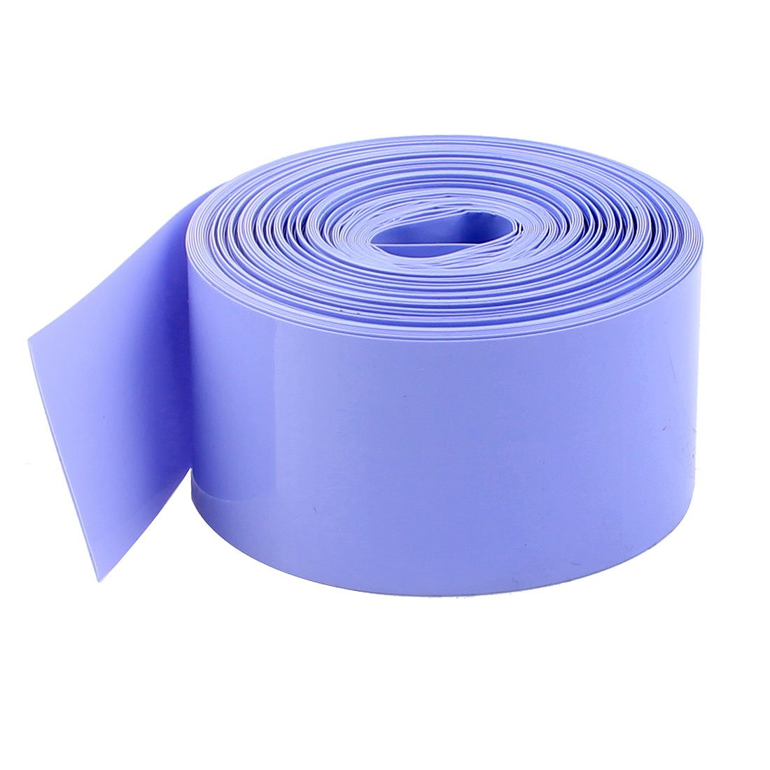 sourcingmap® 29.5mm/18.5mm PVC Heat Shrink Tubing Wrap 10m for 18650 18500 Battery a15012900ux0455