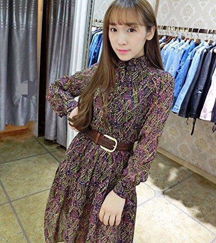 Belt Dress Fashion black Woman Wide Buckle Weave Decorative Belt Simple Stitch White 1d46p6WFq