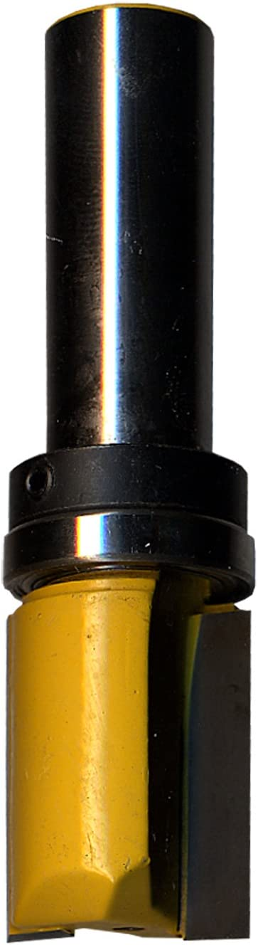 3//4-Inch Bearing Task Tools T24334 Top-Bearing Flush Trim Router Bit with 1//2-Inch Shank 3//4-Inch by 1-Inch Carbide Height
