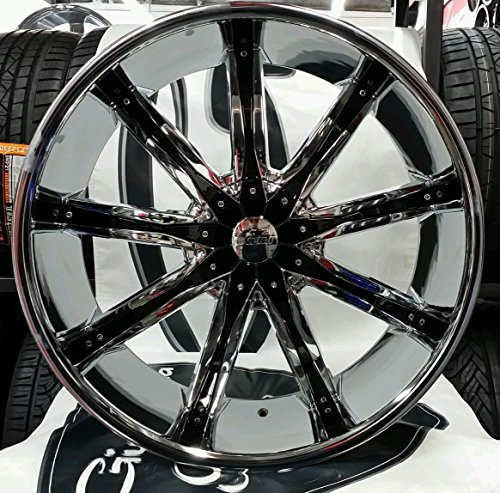 26″ inch DCENTI DW29 WHEELS RIMS AND TIRES CHEVY GMC TOYOTA INFINITI CADILLAC