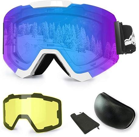 Gogle Occhiali da sci per ragazzi e donne