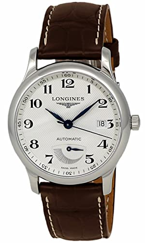 Longines Master Collection potencia Reserva Automático Acero inoxidable reloj para hombre calendario l2.708.4.78.3: Amazon.es: Relojes