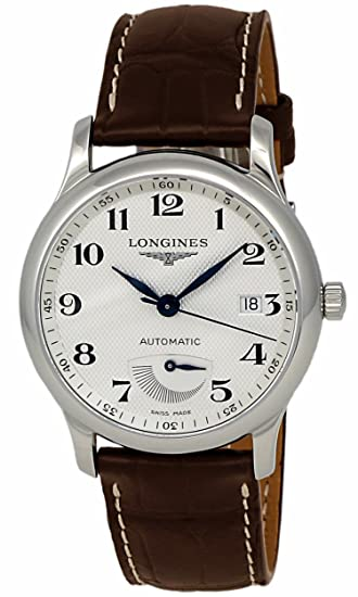 Longines Master Collection potencia Reserva Automático Acero inoxidable reloj para hombre calendario l2.708.4.
