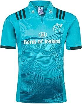 YHANS Camisetas de Rugby para Hombre,2018-20 Irlanda Munster de Rugby Jersey, Camisa de los Hombres Jersey de Entrenamiento Polo de Manga Corta Tops Deportes Ocasionales de la Camiseta Ropa de Fútbol: Amazon.es: