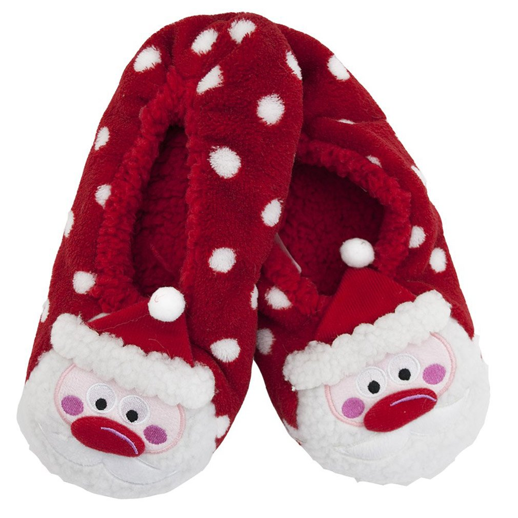 Ladies Novelty Christmas Themed Slipper Socks Rjm