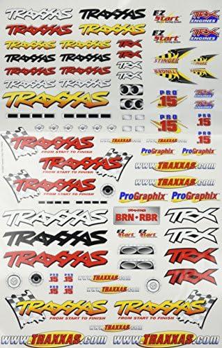 Traxxas #3713 Decal Sheet Rustler Stickers OZRC JL