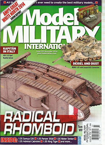 MODEL MILITARY INTERNATIONAL, NOVEMBER, 2014 (AMPS GREAT WHITE NORTH 2014 SHOW ()