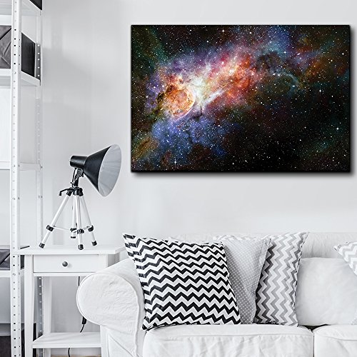 Colorful and Vibrant Starry Galaxy