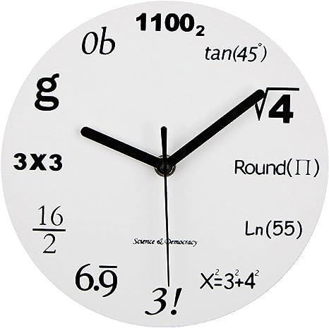 Timelike Math Cloc