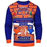 New York Knicks Ugly 3D Sweater - Mens Small