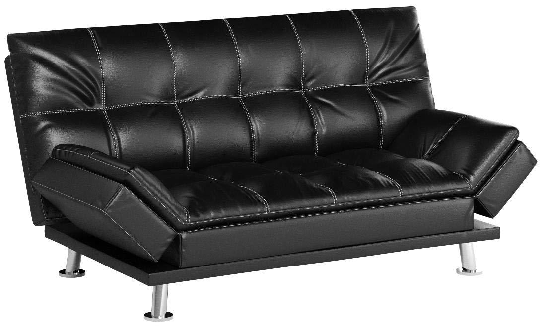 Dilleston Sleeper Sofa Bed Black by Coaster Home Furnishings