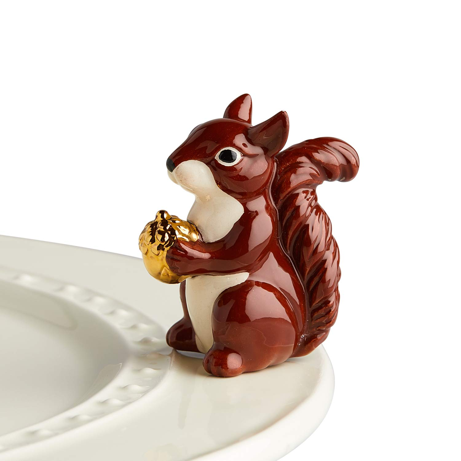 Squirrel Nora Fleming Hand-Painted Mini: Mr Squirrel A215