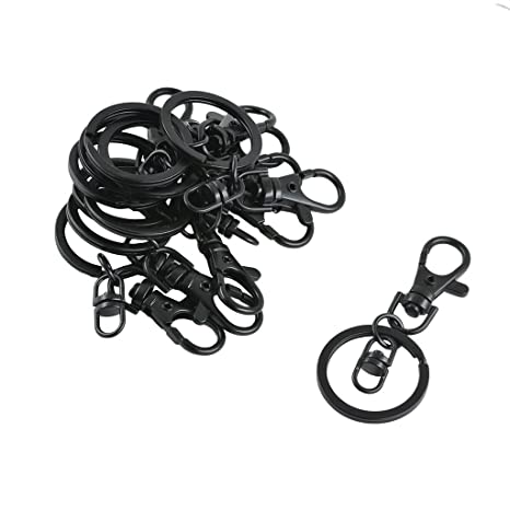 Sharplace 10x Llavero Gancho Color Negro Swivel Trigger Clip ...