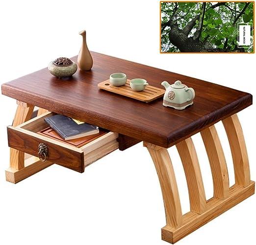 Mesas de café Mesa de te Japonesa Mesa de Tatami de Madera Maciza ...