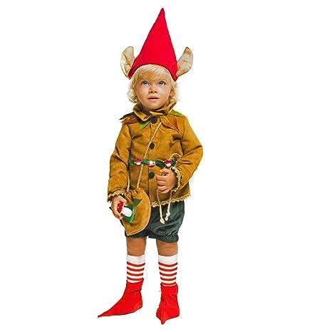 Unbekannt Traje de niños Waldelf Deluxe Elf Acentuado ...