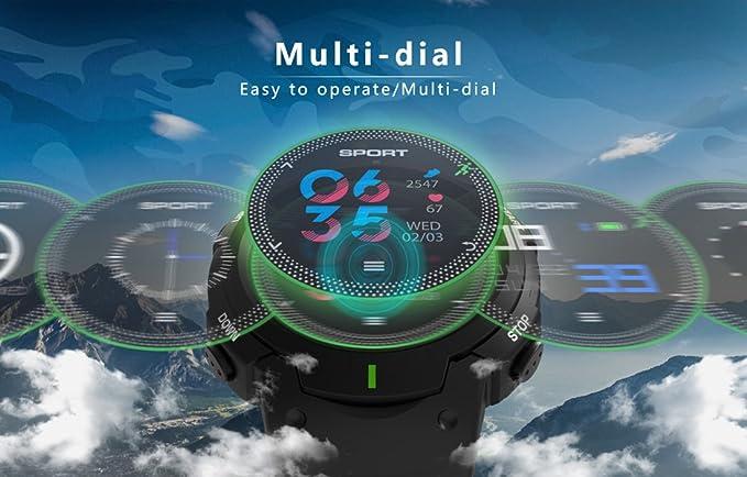 PINCHU Relojes Inteligentes F13 Smartwatch Pulsera Exterior IP68 ...