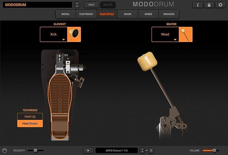 MODO Drum:フットペダル・カスタマイズ