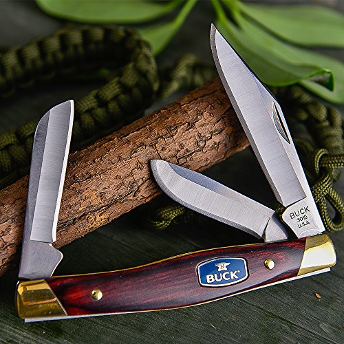 Buck-Knives-301-Stockman-Three-Blade-Folding-Knife