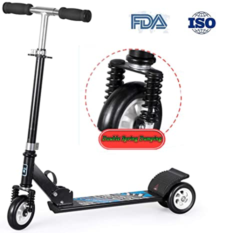 RISILAYS Scooter para niños absorción de Choque Patinete de ...