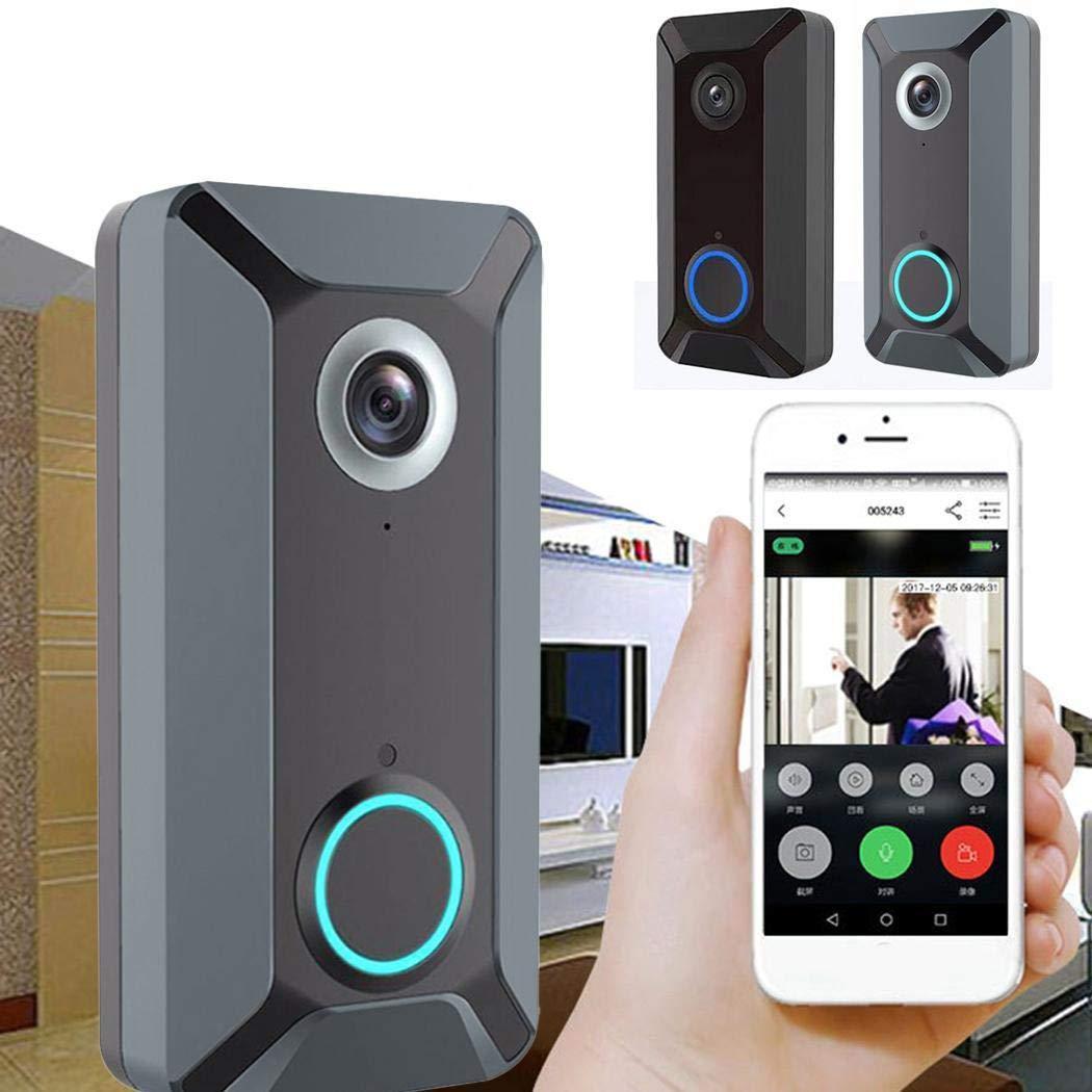 V6 Wireless WIFI Smart Doorbell Remote Video Monitor Intercom by Buttoncotton