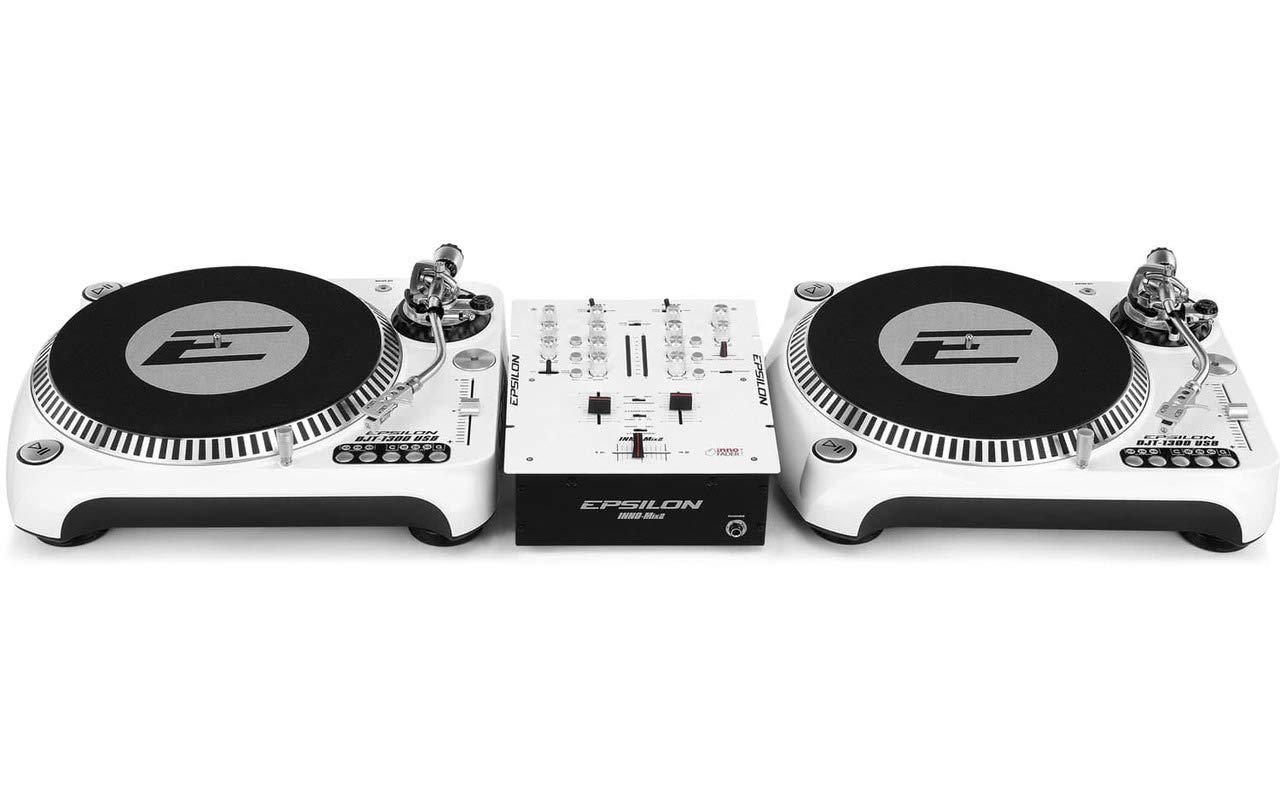 DJ Starter - 2 x Epsilon Tocadiscos + Epsilon 2 de canal Licuadora ...