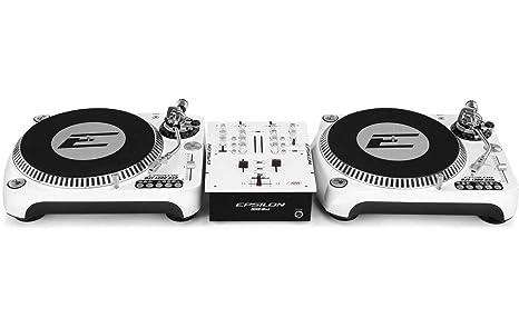 DJ Starter - 2 x Epsilon Tocadiscos + Epsilon 2 de canal ...