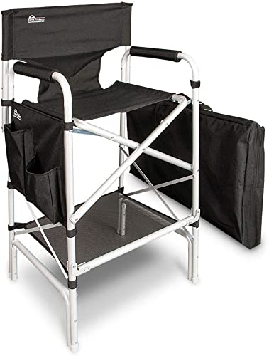 Earth Heavy Duty VIP Tall Aluminum Director's Chair