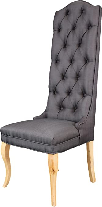 Fabulous Amazon Com Established 98 20003 Tuft High Back Accent Chair Onthecornerstone Fun Painted Chair Ideas Images Onthecornerstoneorg