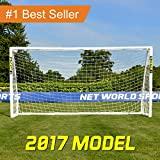 Net World Sports Weatherproof FORZA Soccer Goal, 12 x 6 Feet