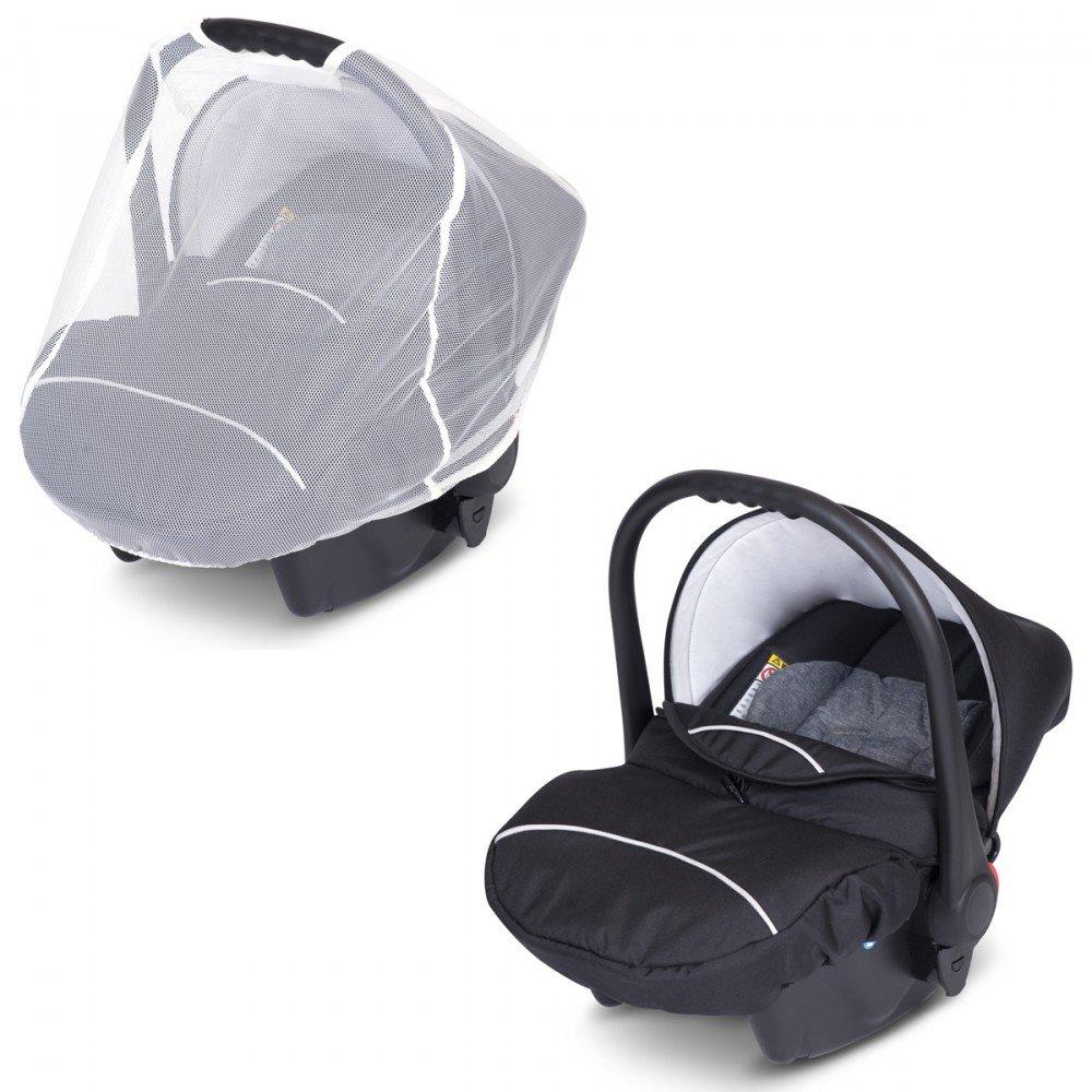 3en1 Cochecito Passo – Capazo/capazo + cochecito + bebe 0 – 10 kg gris Carbon