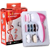 7 in 1 Electric Callus Skin Remover Massager Smoother Set