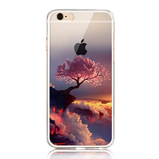 30 opinioni per Cover iphone SE, Custodia iphone 5s, Sunroyal® Paesaggio Scenario Creativa Cover