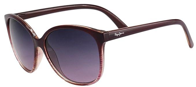 d02f93d9a288e Lunettes de soleil Pepe Jeans PJ 7130 Violet  Amazon.fr  Vêtements ...