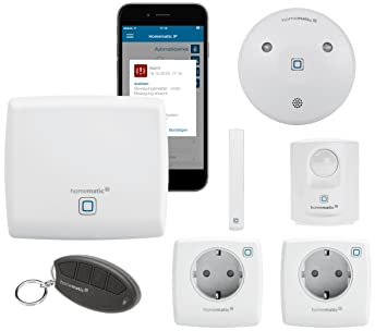 HomeMatic IP Sistema de seguridad y alarma inalámbrico para ...