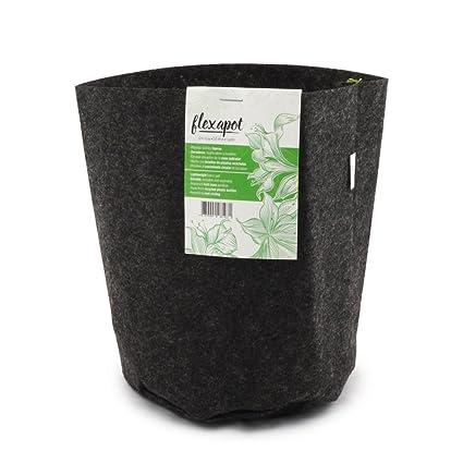 Bolsa / Maceta Geotextil para el cultivo Flexapot® Gris 1 GAL (3,8L